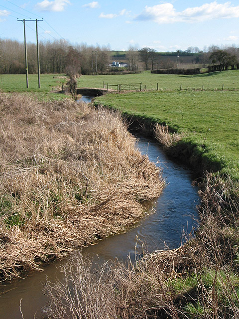 The Gamber Brook at Tretire