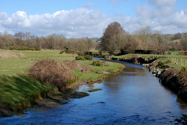 The Afon Aeron upstream near Capel Betws Lleucu