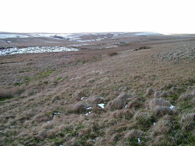 Upper reaches of Mawmon Sike