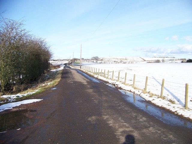 Unclassified Road near Fullwood