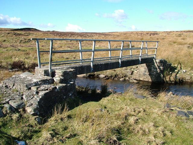 Footbridge over beck