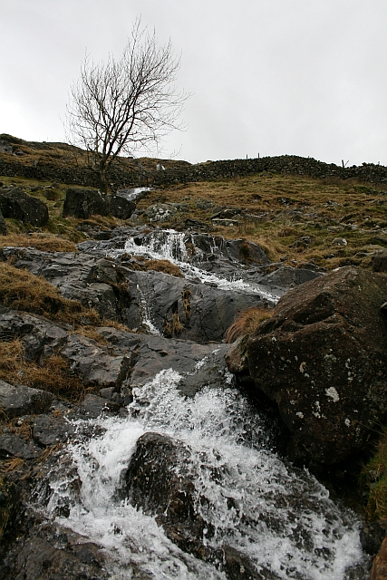 Stream Coming Off Seathwaite Fell