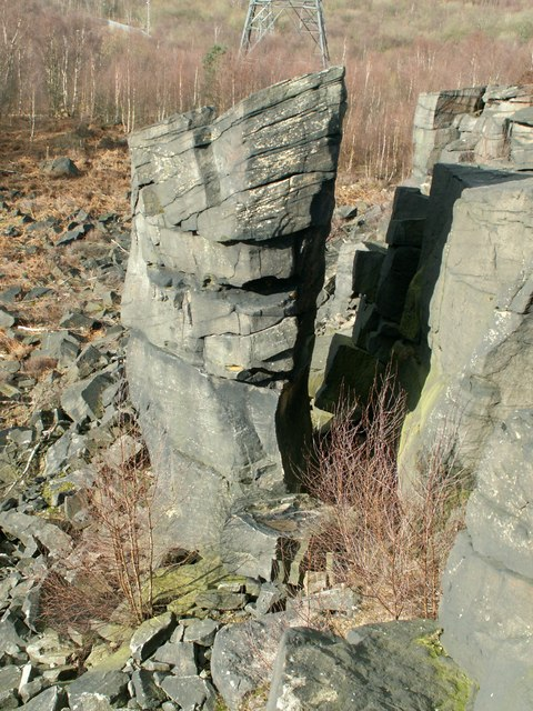 Prow Rock Wharncliffe Crags