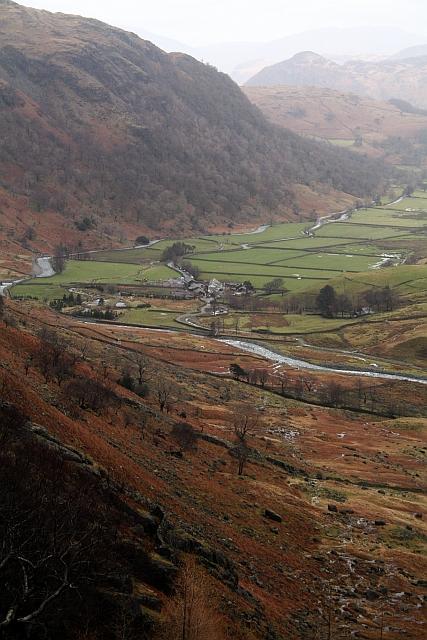 Seathwaite and Lower Borrowdale