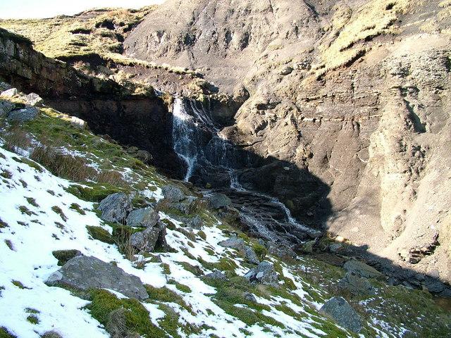 Waterfall on Mawmon Sike