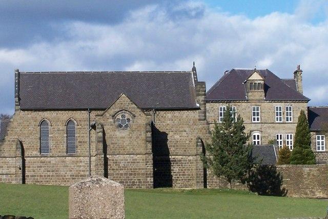 Convent and Church near Bradfield