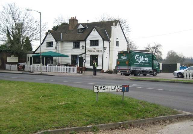 Clay Hill: The Fallow Buck public house