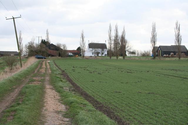 Track to Dovecote Farm