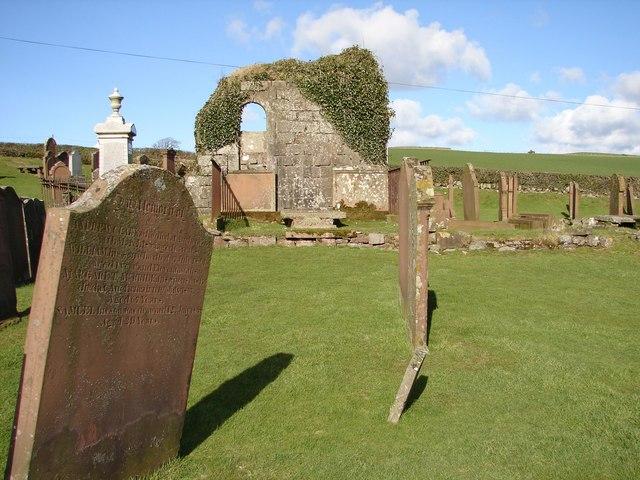 Rerrick Cemetery (East side)