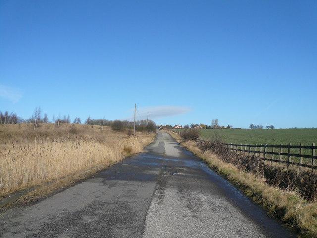 Lane View towards Woodthorpe