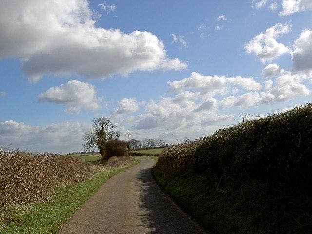 Walls Lane near Whitwell