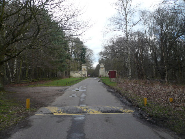 Clumber Park - View of the Normanton Entrance