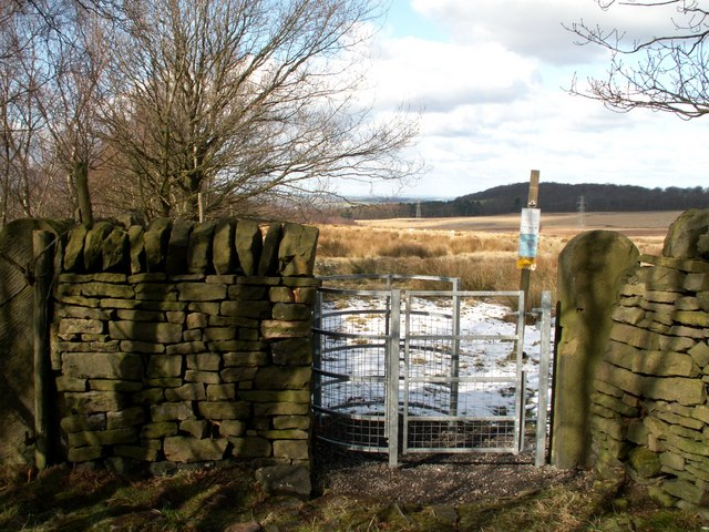 A new access gate to Wharncliffe Chase