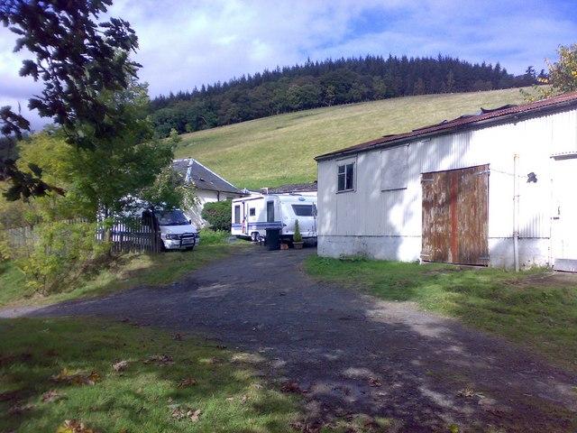 Stables & Hobby Caravan At Eshiels Eh458na