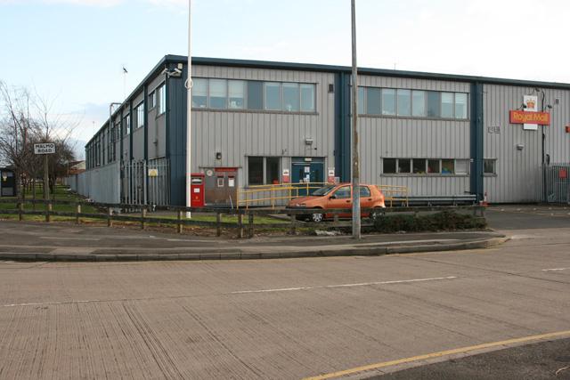 Royal Mail Sorting Office, Malmo Road, Hull