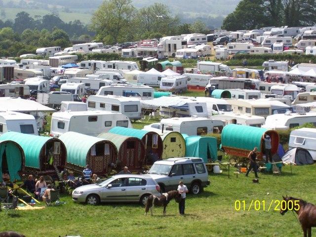 Appleby Horse Fair 2007 Gypsy Caravans & Horses
