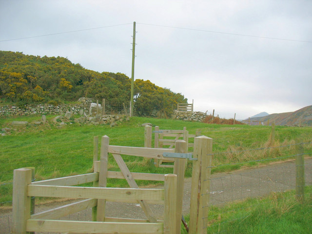 Gates and stiles on the pilgrims' path