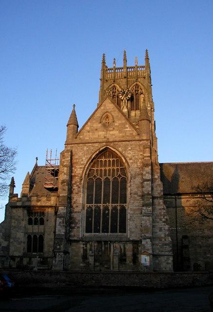 St. Augustine's Church at Dawn
