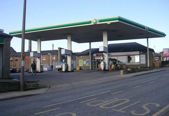 BP Filling Station - Haley Hill