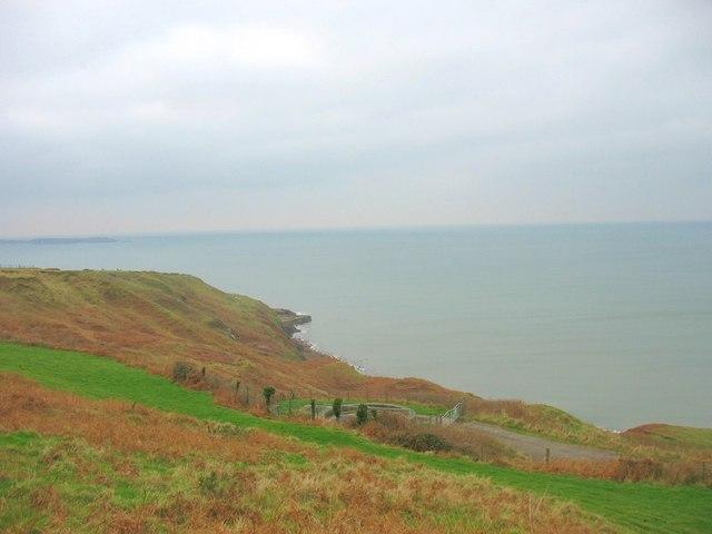 Cliffside path above Porth Bodeilas