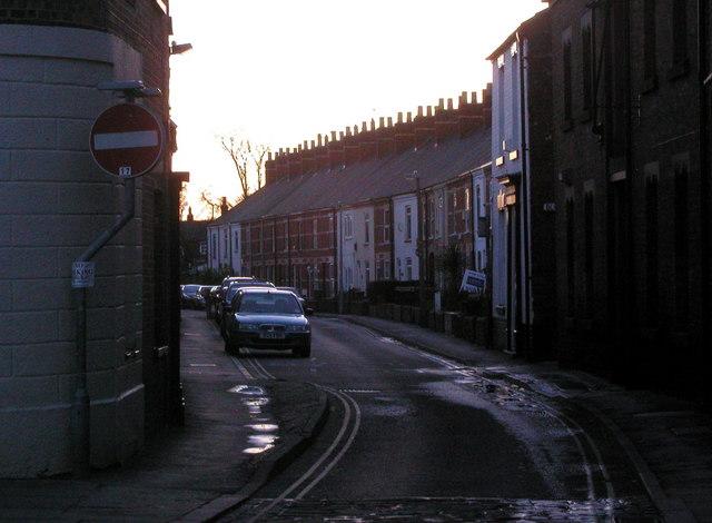 George Street, Hedon at Dawn