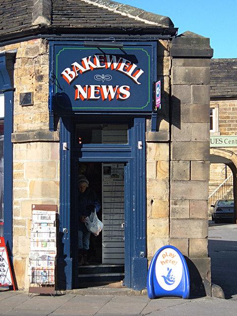 Newsagent's Shop Bakewell