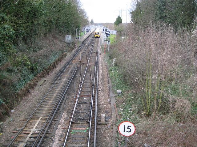 Crayford railway station
