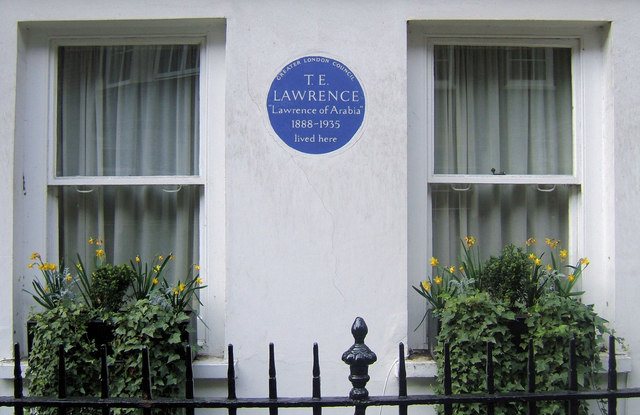 Barton Street, London SW1. Home of Lawrence of Arabia.