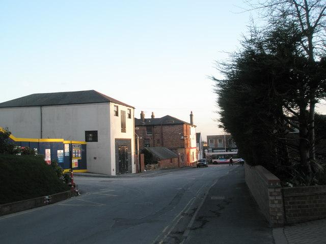 Looking southwards down Lower Drayton Lane