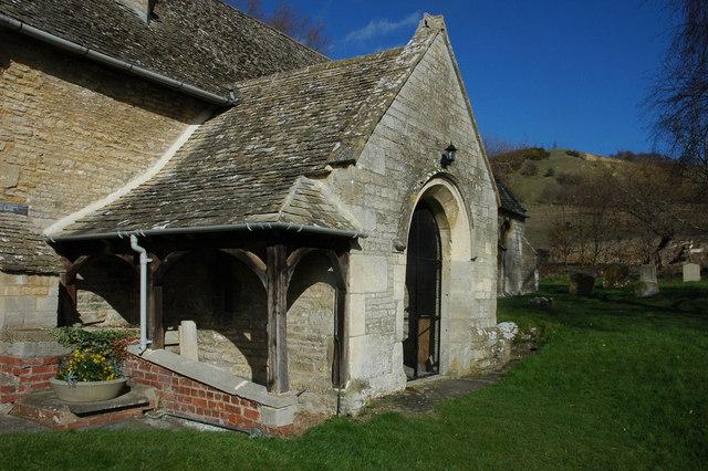 Porch to Oxenton Church