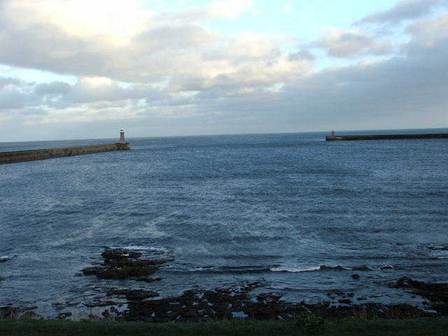 Mouth of River Tyne