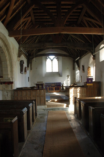 Interior of Oxenton Church