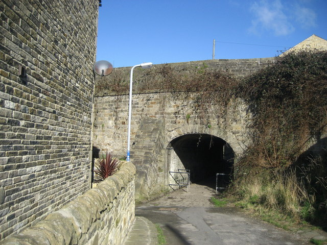 Tunnel on Hainsworth Road