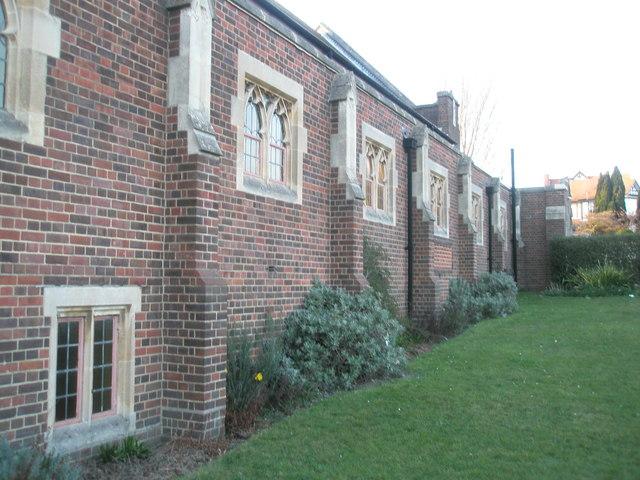 Churchyard of Drayton Methodists