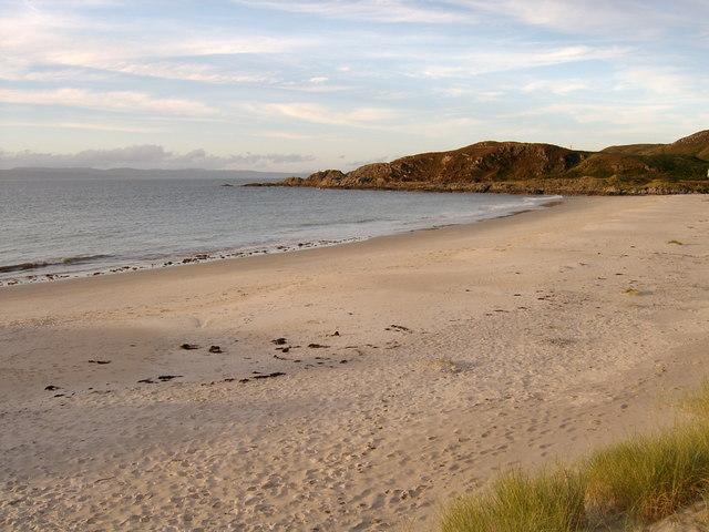 Beach at Camusdarach