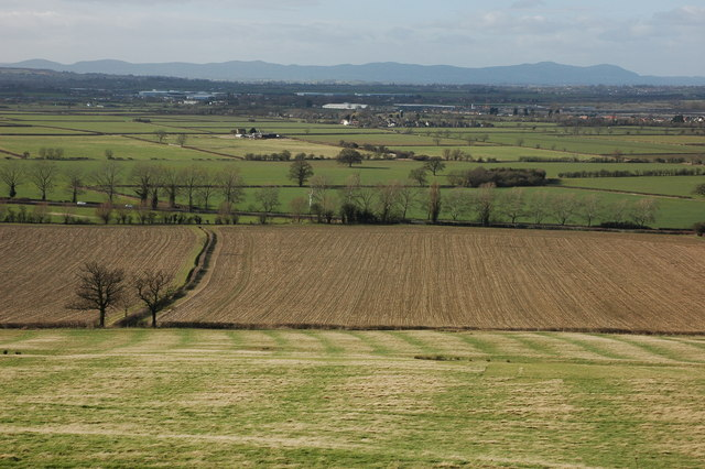 View to the west from Oxenton Hill