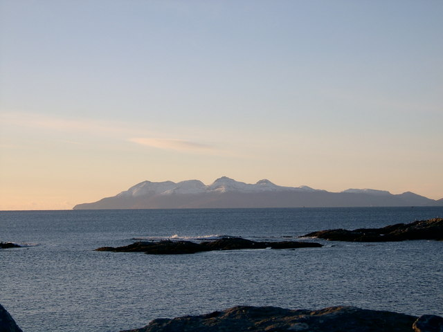 View from Mallaig carpark