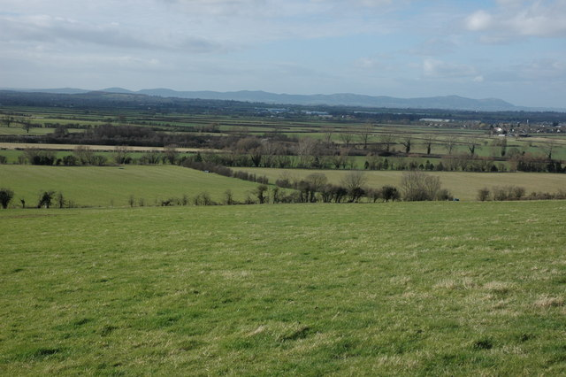 View across the Severn valley from Oxenton