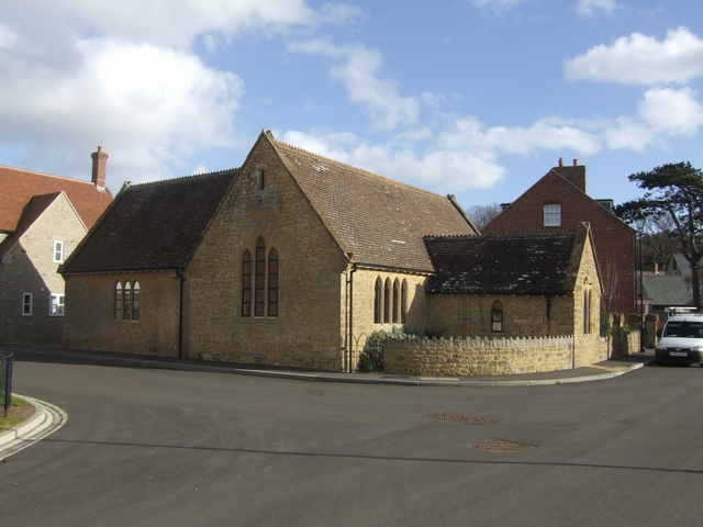 Old schoolhouse, Pymore