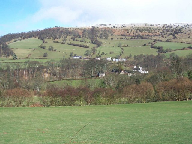 View Towards Llangwathan
