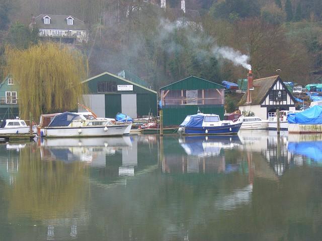 Wootten's Boatyard, Cookham