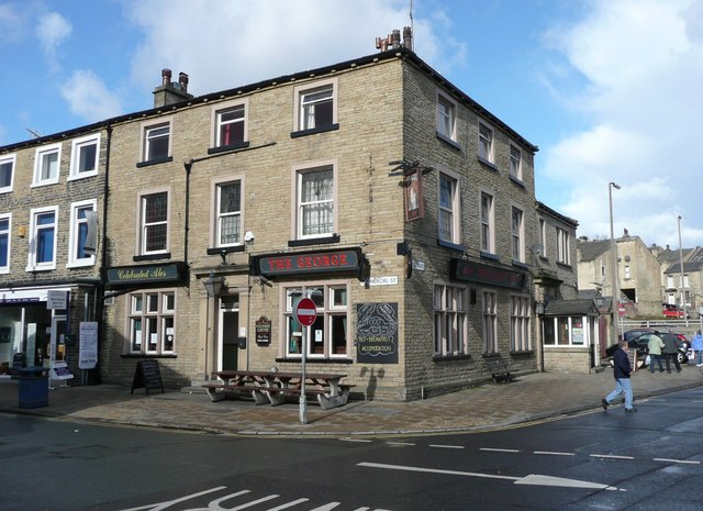 The George Hotel, Commercial Street, Brighouse