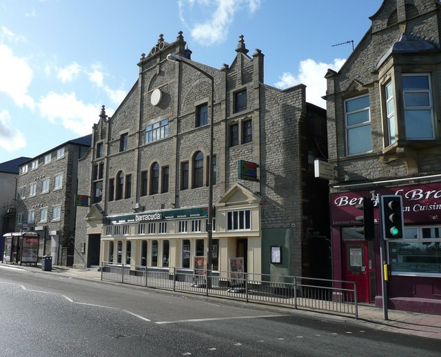 The Albert Hall refurbished, Huddersfield Road, Brighouse