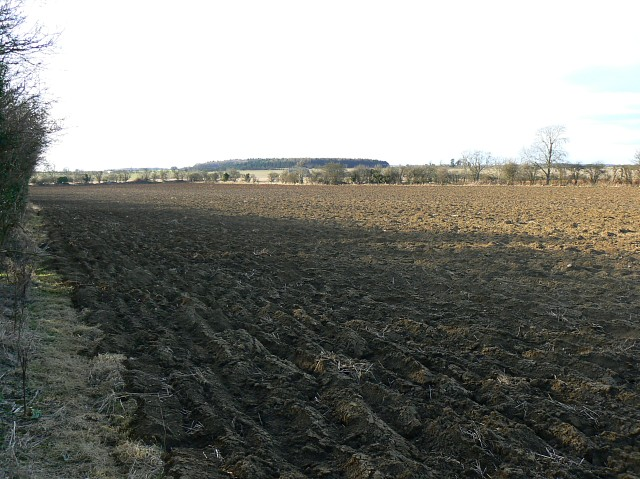 Farmland north of Hatherop