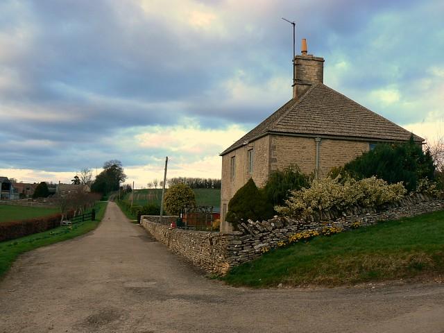 Track to Crickley Barrow Farm, near Eastington