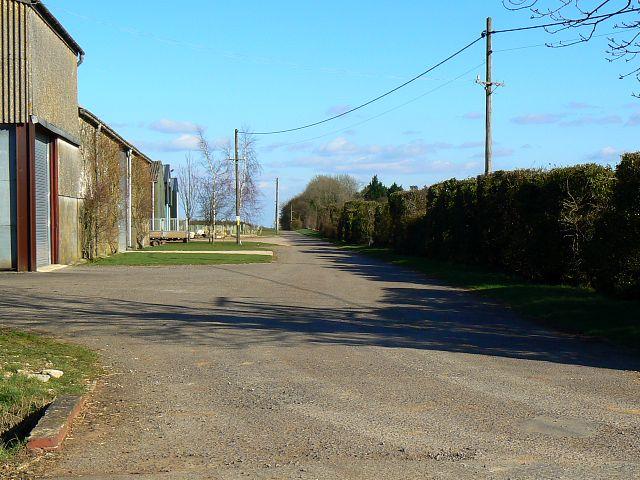 Farm infrastructure, Manor Farm, Meysey Hampton