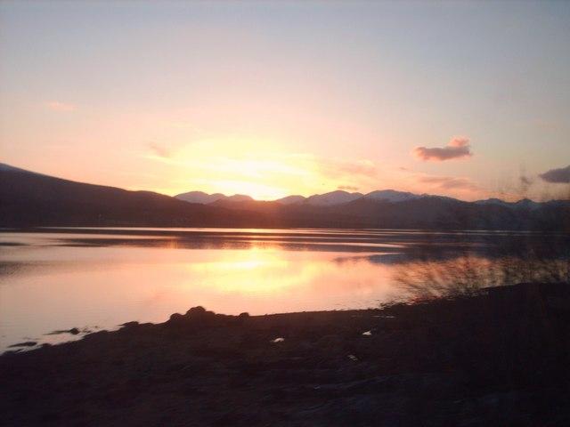 Sunset Loch Eil