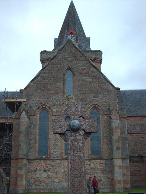 Celtic Cross, Dornoch Churchyard