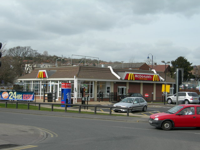 McDonald's, Commercial Road, Strood