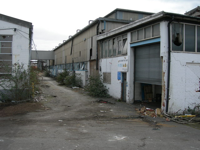 Derelict Factory, Priory Road, Strood (1)